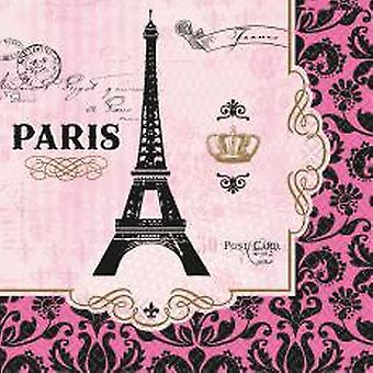 Paris Eiffel Tower of Nappkins napkins 16 pieces in the package