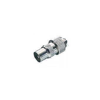 Vivanco 43011 8/45-N Coax Antenne Plug Metaal