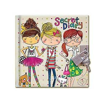 Rachel Ellen Friends Design Secret Locakble Diary
