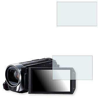 Canon Legria HF R37 display protector - Golebo crystal clear protection film