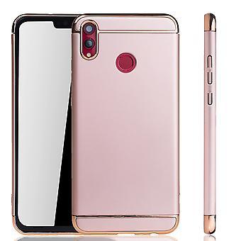 Huawei honor 8 X mobiele dekking bumper Hard Cover case roze