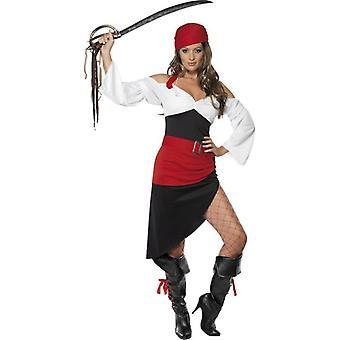 Sassy Pirate Wench Costume  Skirt, UK Dress 16-18
