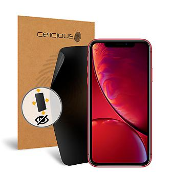 Celicious Privacy Plus 4-Way Anti-Spy Filter Screen Protector Film Compatible with Apple iPhone XR