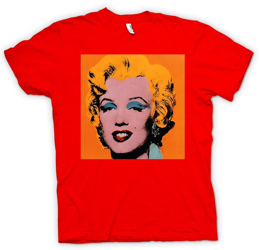 Mens t-shirt - Marilyn Monroe - Warhol - Esq - Pop Art