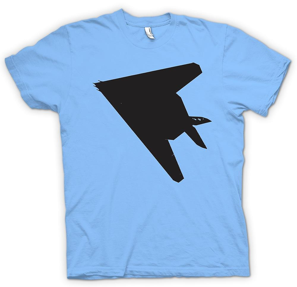 Mens t-shirt - Lockheed F-117 Nighthawk - Stealth Fighter inferiore