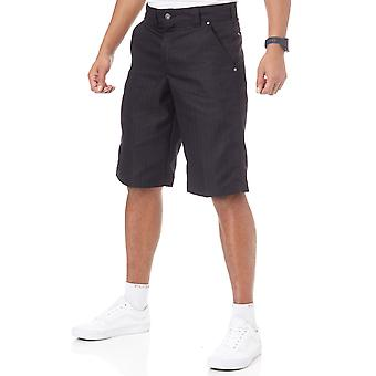 Dickies Black Shadow Stripe - 13 Inch Walkshorts