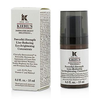 Kiehl's Dermatologist Solutions Powerful-Strength Line-Reducing Eye-Brightening Concentrate - 15ml/0.5oz