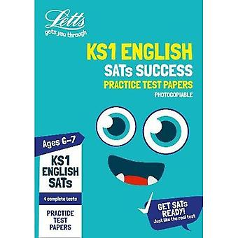 KS1 English SATs Practice Test Papers (photocopiable edition): 2019 tests (Letts� KS1 SATs Success) (Letts KS1 SATs Success)