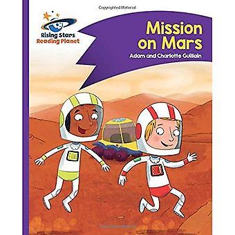 Planeet - missie op Mars - paars lezen: komeet Street Kids (stijgende sterren planeet lezen)