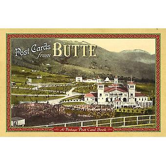 Cartes postales de Butte: un livre Vintage carte postale