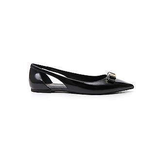 Michael Kors Black Patent Leather Flats