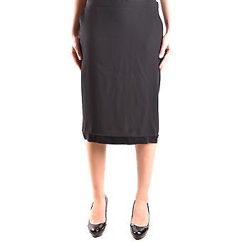 Love Moschino Black Acetate Skirt
