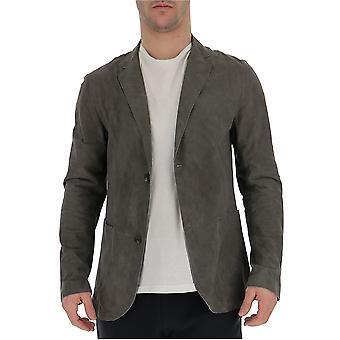 Desa 1972 Grey Suede Outerwear Jacket