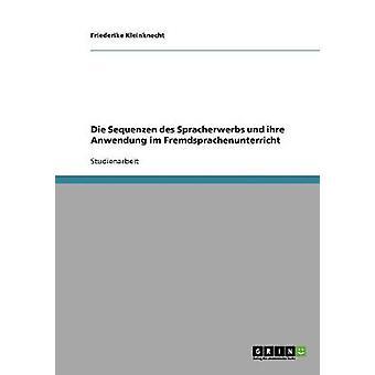 Fremdsprachenunterricht. Die Sequenzen des Spracherwerbs by Kleinknecht & Friederike