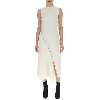 Alexander Mcqueen White Viscose Dress