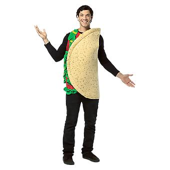 Adult Taco Food Funny Fancy Dress Costume