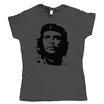 Che Guevara Womens Retro Political T Shirt   Che Guevara Argentine Revolution Cuban Rebellion Icon   Motorcycle Diaries Castro Communist Guerilla Ernesto Mural   Pop Culture Birthday Gift Her Mum