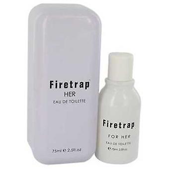 Firetrap door Firetrap Eau de Toilette Spray 2,5 oz (vrouwen) V728-541635