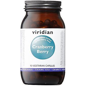 Viridian Cranberry Berry Extrait Veg Caps 90 (807)
