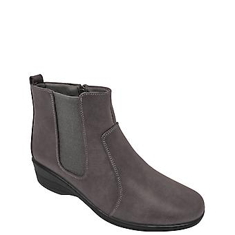 Ladies Womens Lined Boot