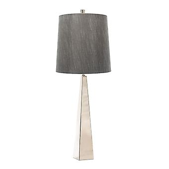 Elstead - 1 Light Table Lamp - Polished Nickle - ASCENT/TL PN