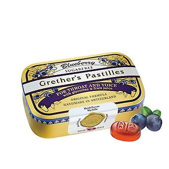 Grether es Blueberry Pastilles Zucker frei 110g