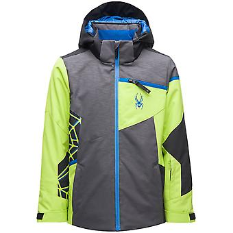 Spyder CHALLENGER Jungen Repreve PrimaLoft Ski Jacke grau
