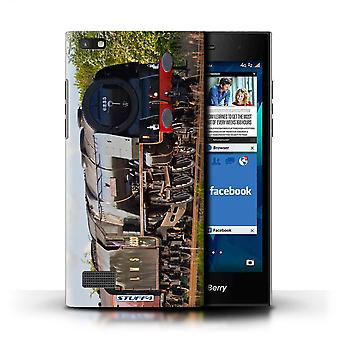 STUFF4 Case/Cover for Blackberry Leap/Duchess Sutherland/Steam Locomotive