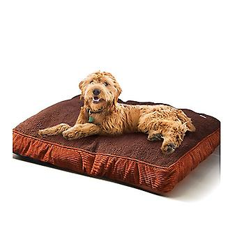 Pawz Washable Soft Pet Bed Mattress Cushion Brown