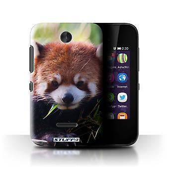 STUFF4 Case/Cover for Nokia Asha 230/Racoon/Wildlife Animals