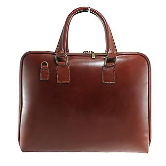 CTM handbag, Briefcase, 24 hours for women genuine leather made in italy