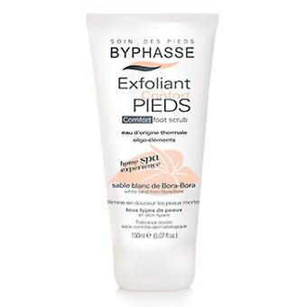 Byphasse Comfort Foot Scrub Home Spa Experience