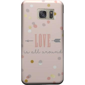Love is all around to cover Galaxy S6