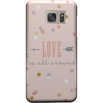 Liefde is alles rond ter dekking van de Galaxy S6