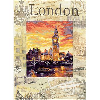 Cities Of The World: London Counted Cross Stitch Kit-11.75