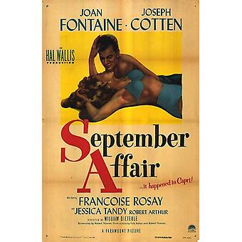 أيلول/سبتمبر قضية الفيلم ملصق (11 × 17)
