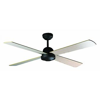 "Faro ceiling fan Ibiza brown 132 cm / 52"" with remote control"