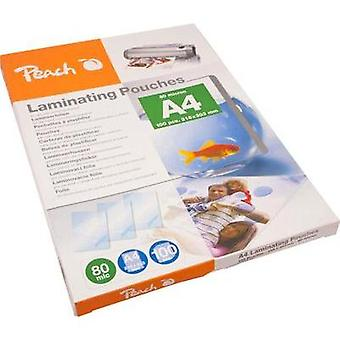 Laminate sheet Peach DIN A4 80 micron glossy 100 pc(s)