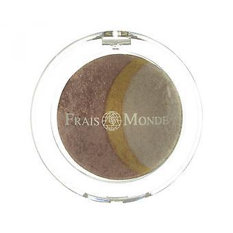 Frais Monde Thermal Mineralize bakad Trio-ögonskugga bakad Trio ögonskuggor