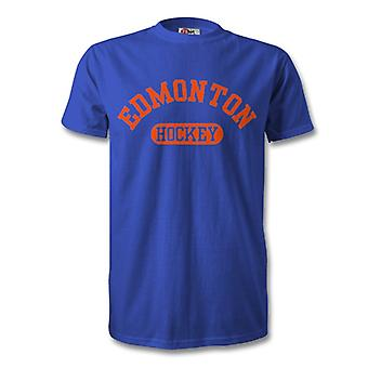 T-Shirt de Hockey Edmonton