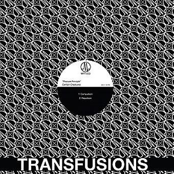 Visse skabninger - fornøjelse princippet [Vinyl] USA importerer