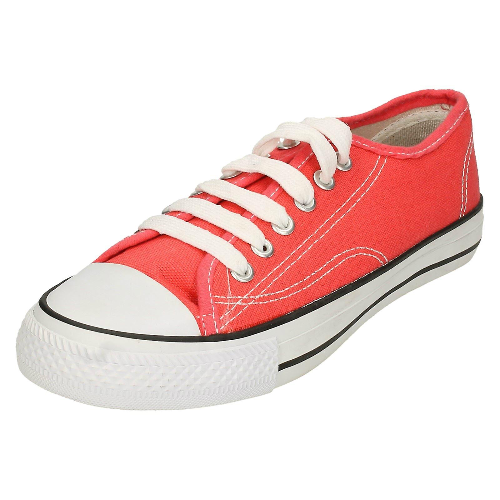 Womens Spot su tela pizzo scarpe X0001