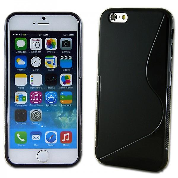 Silicone case S-line for various Apple iPhone