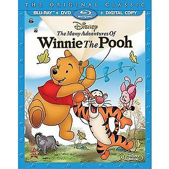 Viele Abenteuer von Winnie Puuh [BLU-RAY] USA import