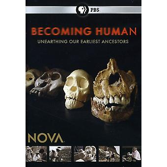 Nova - Nova: Becoming Human [DVD] USA import