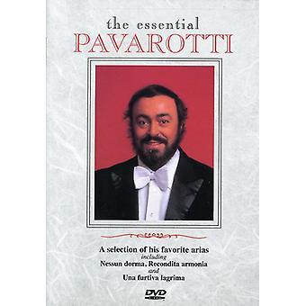 Luciano Pavarotti - Essential Pavarotti [DVD] USA import