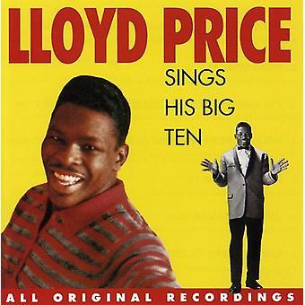 Lloyd Price - Sings His Big Ten [CD] USA import