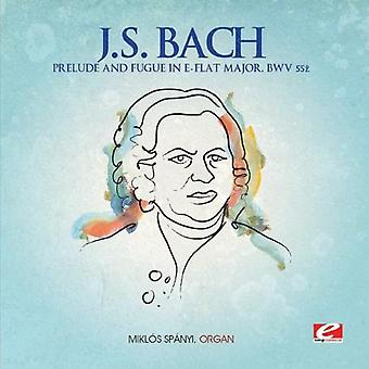 J.S. Bach - Prelude & Fugue in E-Flat Major [CD] USA import