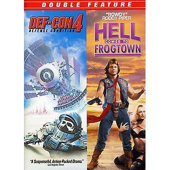 Def-Con 4/hel gaat om Frogtown [DVD] USA import