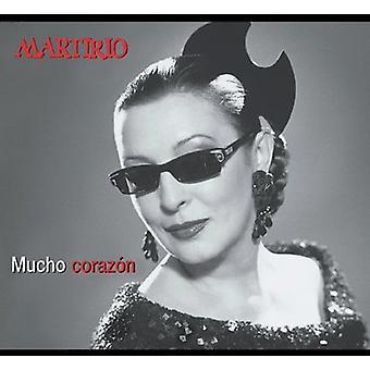 Martirio - Mucho Corazon [CD] USA importerer
